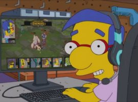Герои «Симпсонов» окунулись вкиберспорт. Получилось достаточно правдоподобно