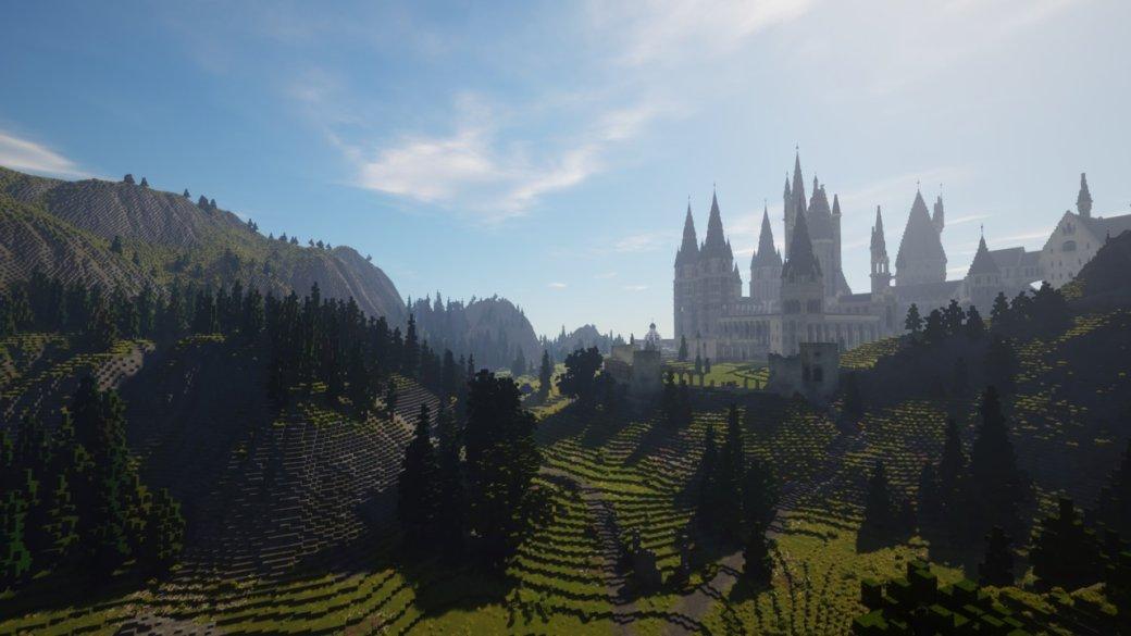 RPG по«Гарри Поттеру» наоснове Minecraft— какие места изкниг ифильмов вней есть? | Канобу - Изображение 798