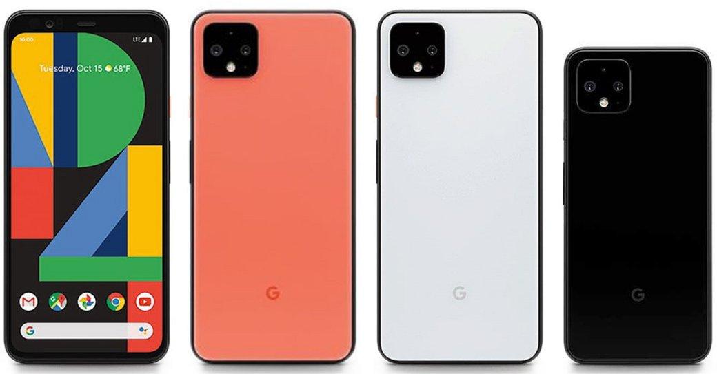 Google анонсировала флагманы Pixel 4 иPixel 4 XL