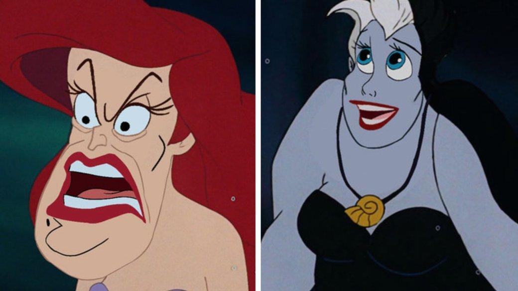 Какбы выглядели герои излодеи мультфильмов Disney после Face Swap? Забавно (инемного жутко) | Канобу - Изображение 999