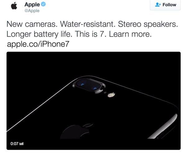 Apple анонсировала iPhone 7 раньше времени, а потом удалила твит   Канобу - Изображение 9350