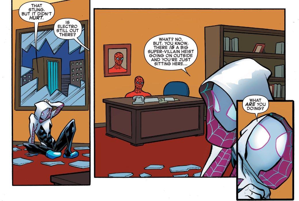Что такое Spider-Verse? Кроссовер, где Человек-паук встретил безумные версии себя издругих миров | Канобу - Изображение 9