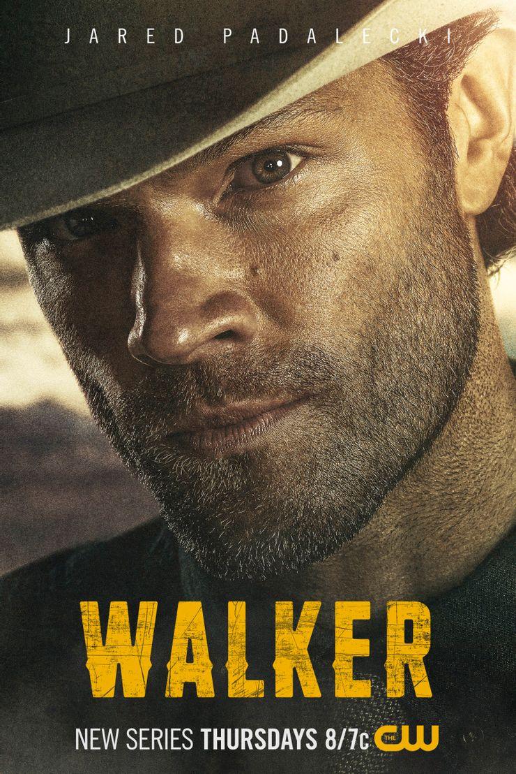 CW поделилась новым постером сериала «Уокер» с Джаредом Падалеки