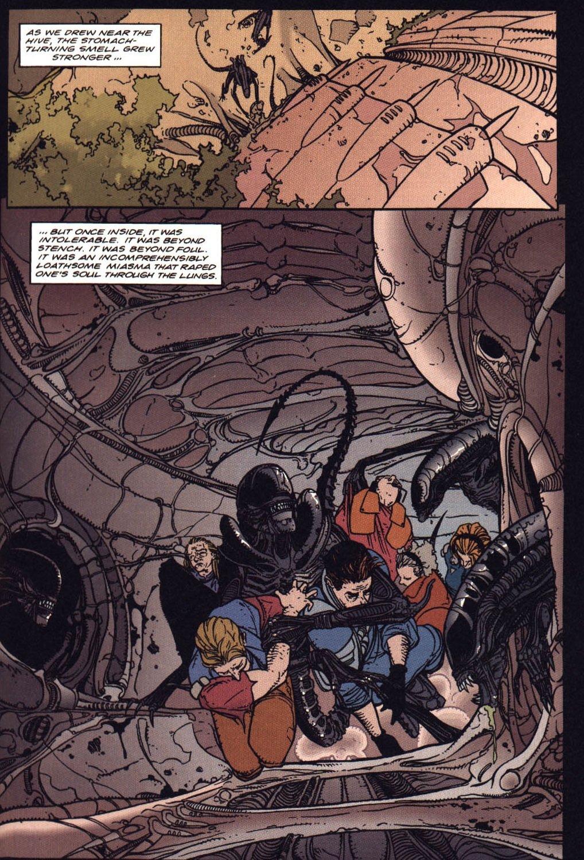 Жуткие комиксы про Чужих, откоторых кровь стынет вжилах   Канобу - Изображение 21