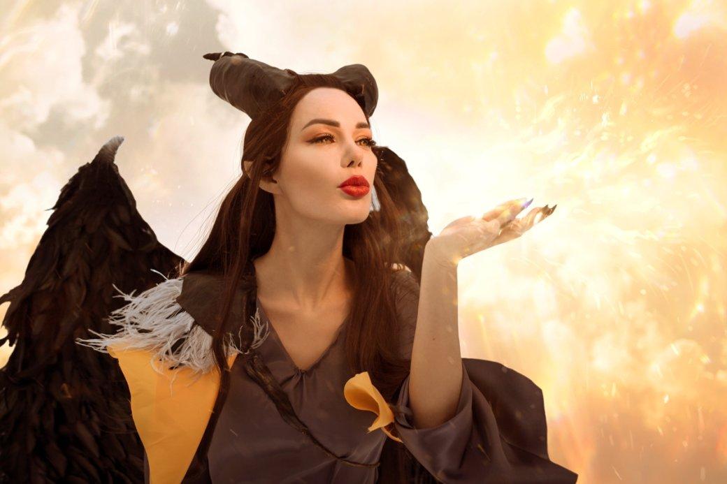 Очаровательная Малефисента в потрясающем косплее от Марины Ханны | Канобу - Изображение 4694
