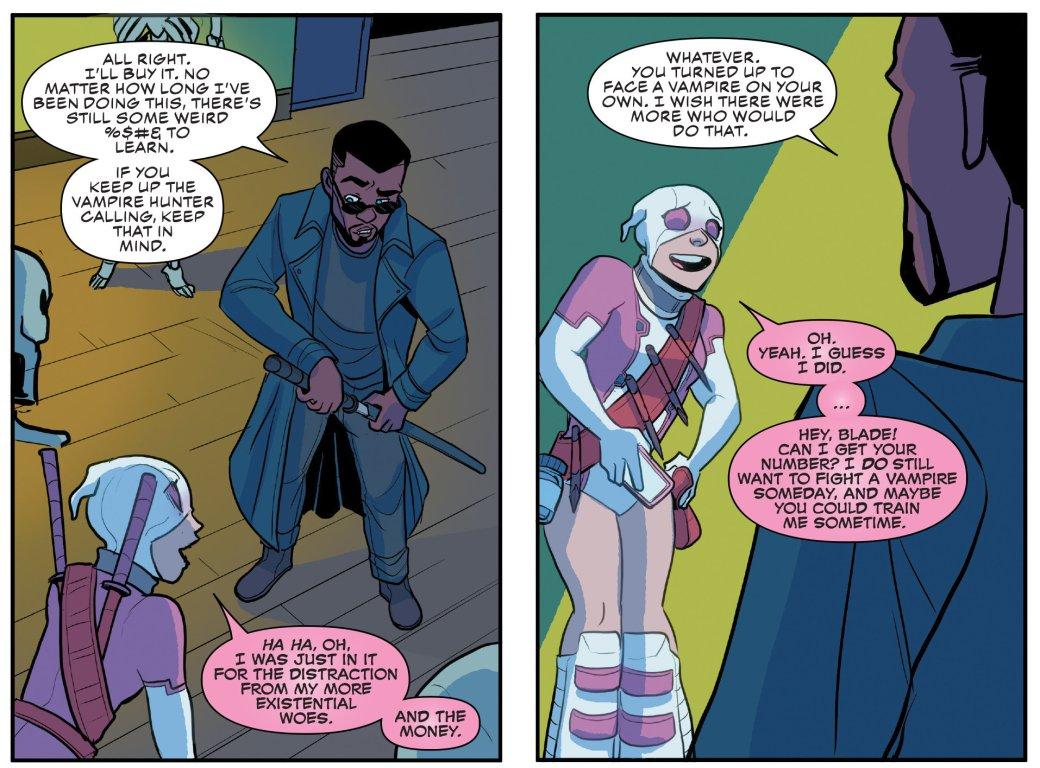 Кто такой Блэйд? Отохотника навампиров дочлена Мстителей исоюзника Людей Икс | Канобу - Изображение 149
