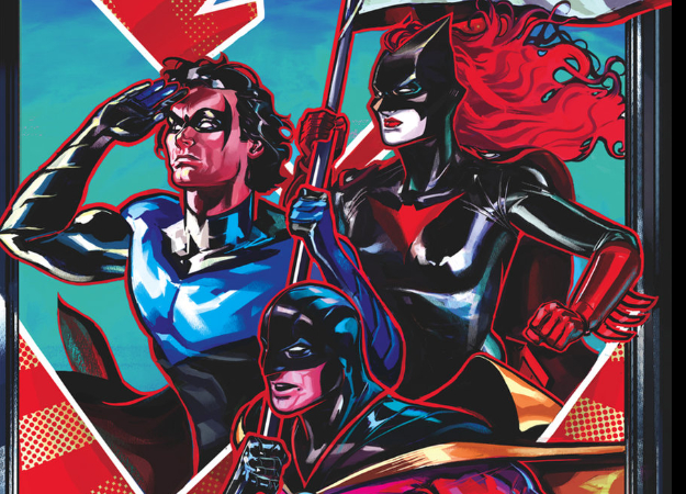 Nightwing: The New Order— комикс-антиутопия, где суперсилы вне закона   Канобу