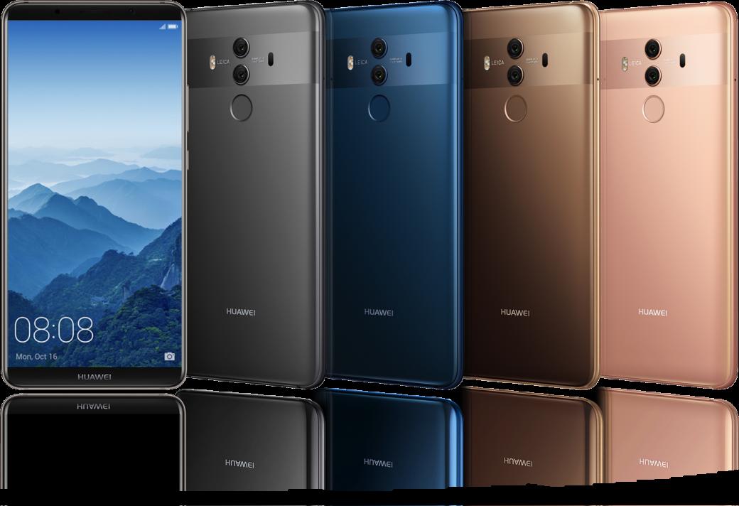 Успехи Huawei наCES 2018: смартфон Huawei Mate 10 Pro ибеспроводная система WiFi Q2. - Изображение 2