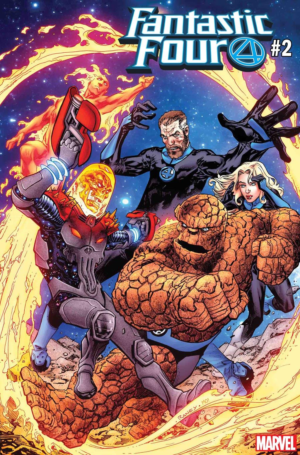 Космический Призрачный гонщик против вселенной Marvel. Правда, пока только навариативных обложках | Канобу - Изображение 6834