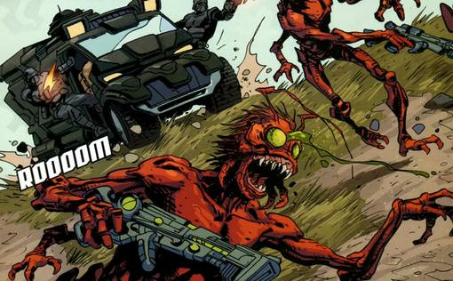 Комиксы: Formic Wars - Burning Earth | Канобу - Изображение 5