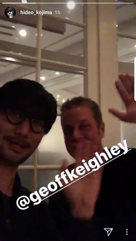 Кодзима, Кейли и Ридус собрались в Лос-Анджелесе и что-то планируют. Death Stranding на E3 2018? | Канобу - Изображение 1