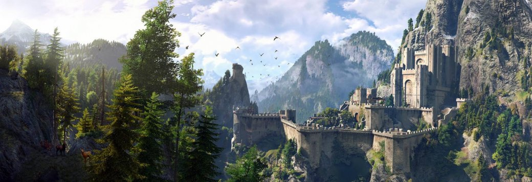 В новом ролике со съемок «Ведьмака» от Netflix можно полюбоваться на величественный замок | Канобу - Изображение 1