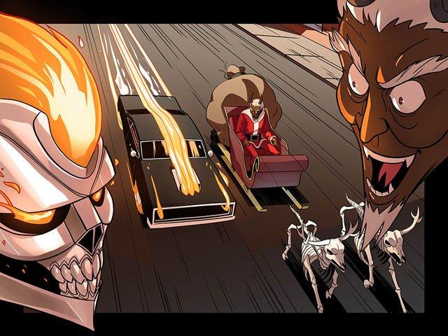 Method Man написал рождественский комикс про Призрачного Гонщика   Канобу - Изображение 10402