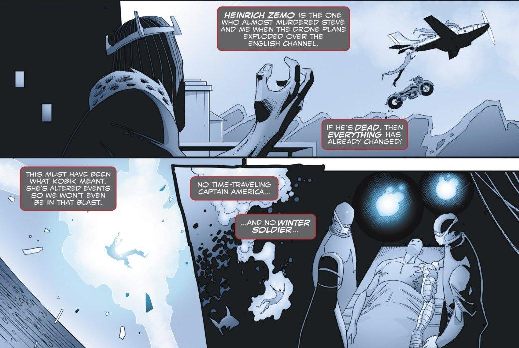 Зимний солдат вернулся в прошлое и узнал правду о Капитане Америка | Канобу - Изображение 8176