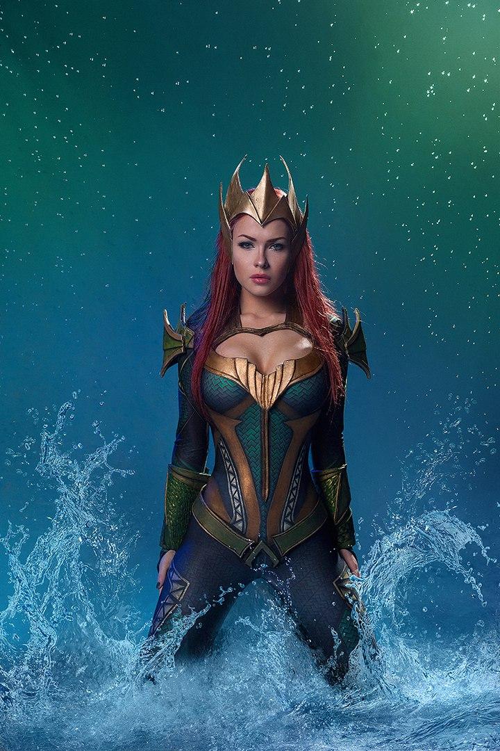 Косплей дня: королева Атлантиды ивозлюбленная Аквамена Мера | Канобу - Изображение 4