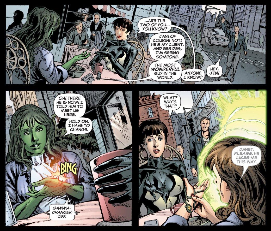 Чем Женщина-Халк отличается отХалка? Супергерой, адвокат, Мститель | Канобу - Изображение 13