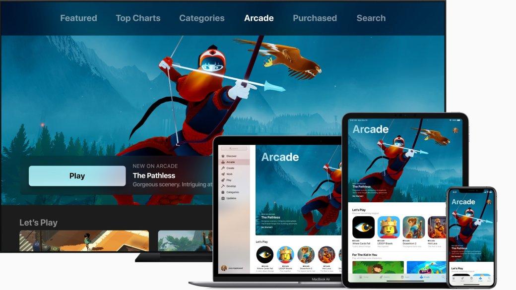Игры, шоу иподписки— что показала Apple напрезентации | Канобу - Изображение 1