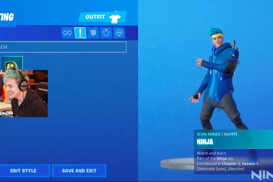 Популярный стример Ninja получил свой скин вFortnite | Канобу - Изображение 0