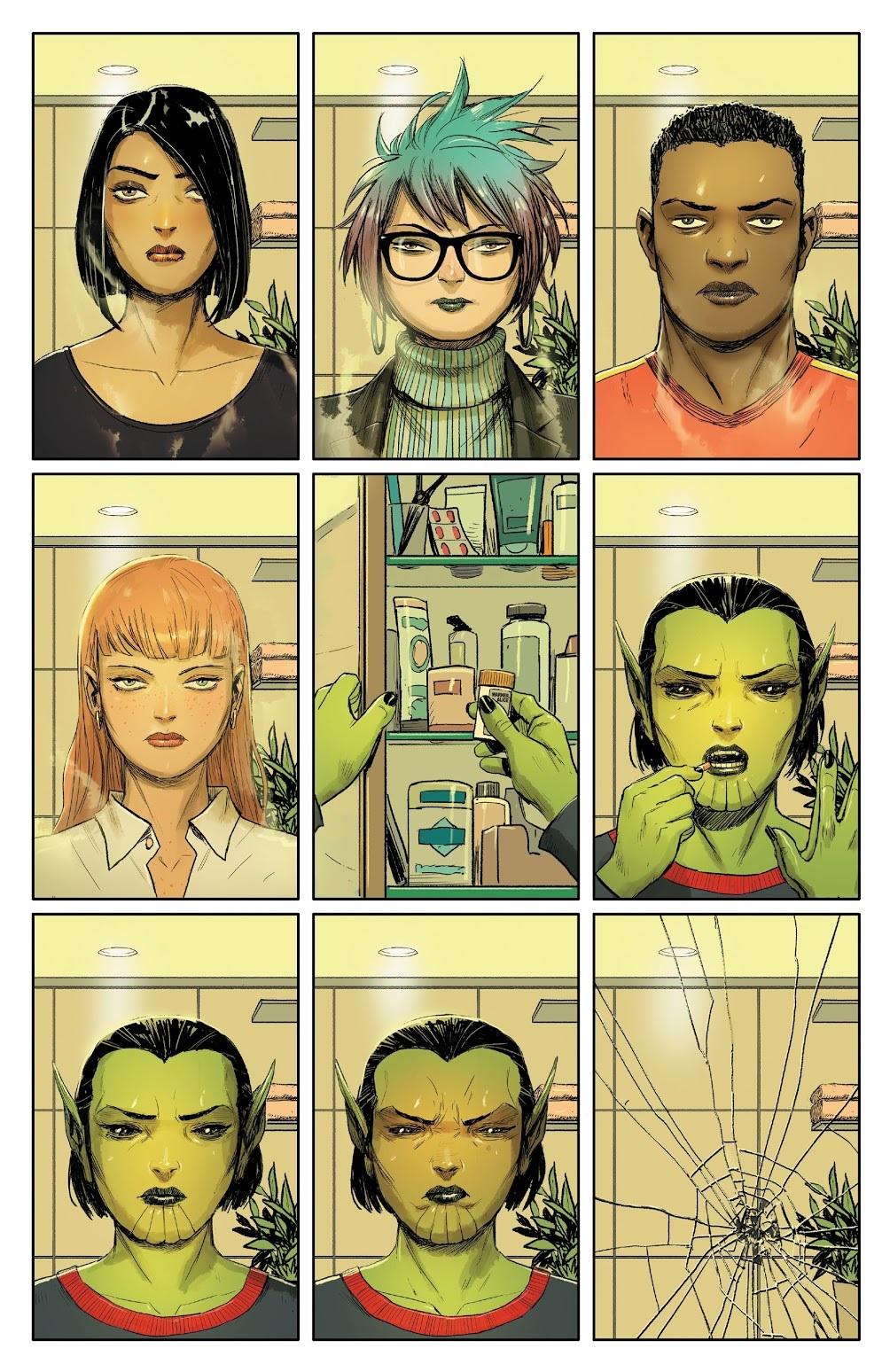 Зачем читать Meet the Skrulls? История осемье пришельцев-шпионов, скрывающихся наЗемле | Канобу - Изображение 4