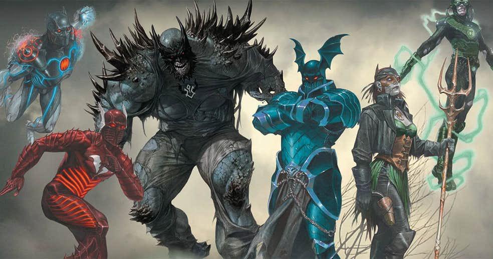 ВDark Nights: Metal мог появиться злой Бэтмен-Каратель и даже Бэтмен, слившийся с Готэм-сити! | Канобу - Изображение 4438