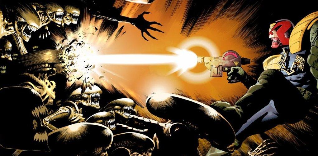 Бэтмен против Чужого?! Безумные комикс-кроссоверы сксеноморфами | Канобу