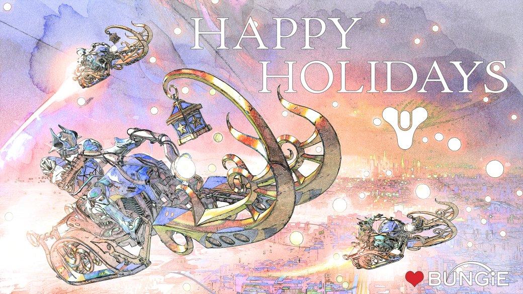 Разработчики поздравляют игроков с Рождеством. Подборка праздничных открыток   Канобу - Изображение 12492