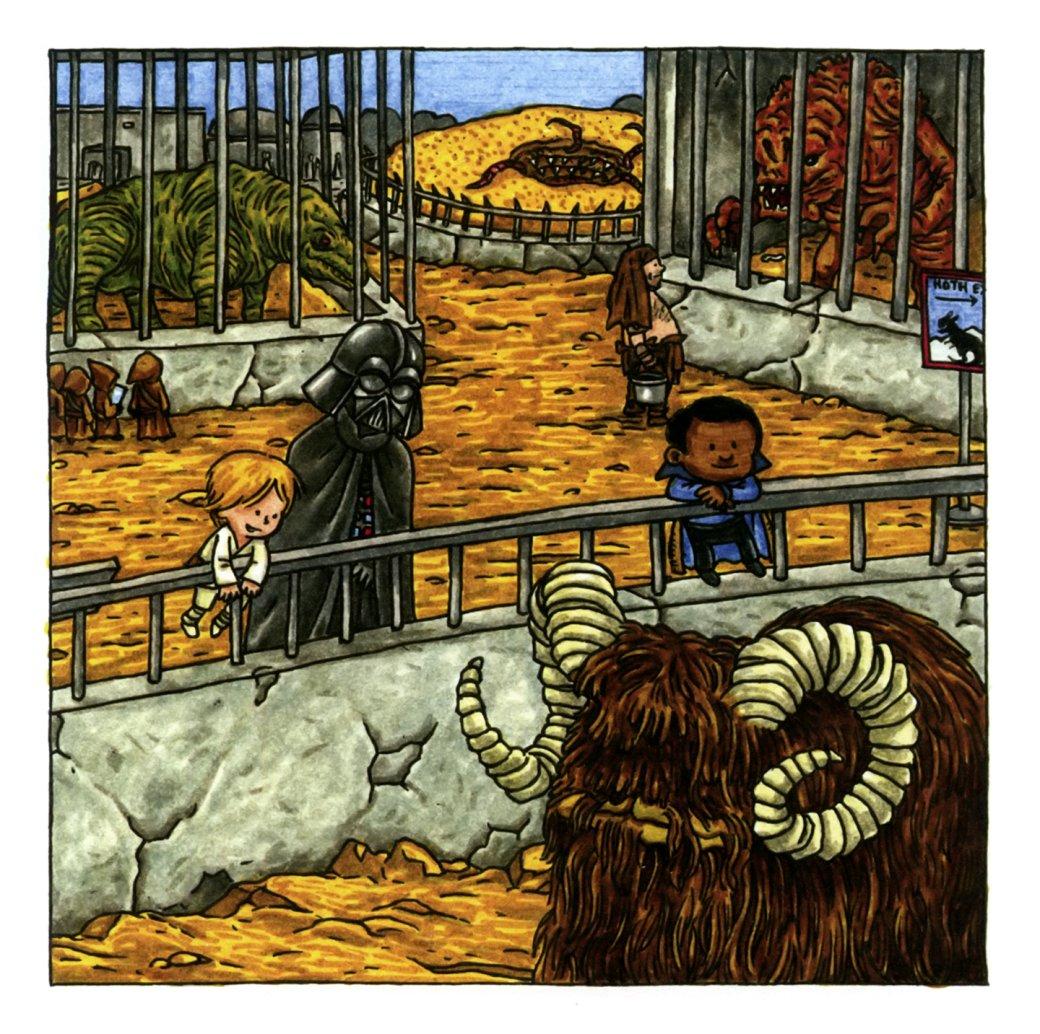 Самые странные инеобычные комиксы по«Звездным войнам»: отстимпанка доСредневековья. - Изображение 8