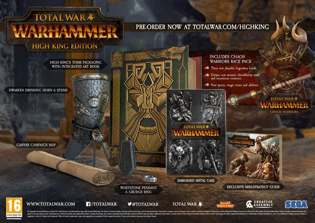 Total War: Warhammer обзавелась точной датой релиза и коллекционкой | Канобу - Изображение 1