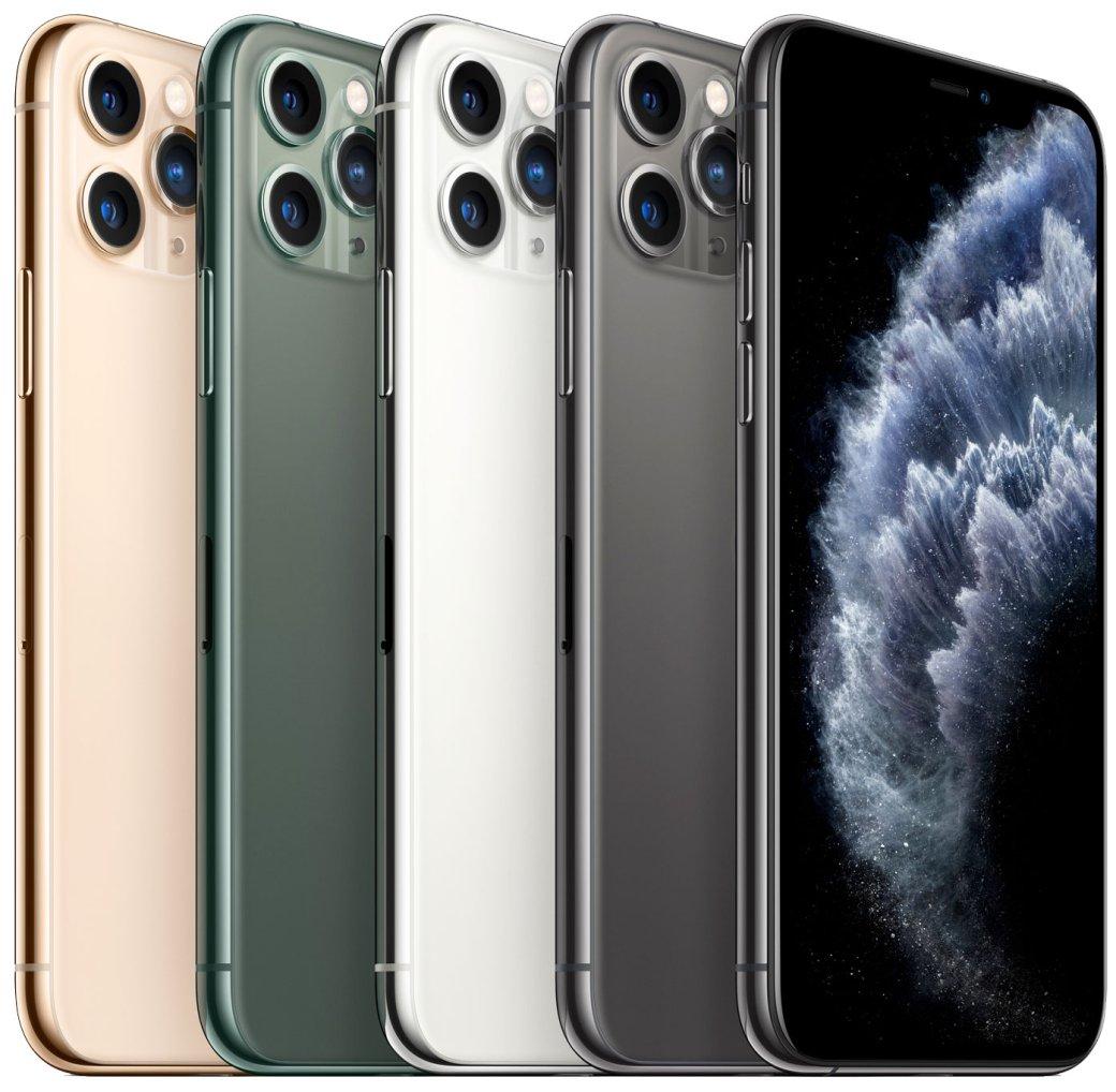 Представлены iPhone 11 Pro иiPhone 11 Pro Max: ОоО камера и цены от 89 990 рублей | Канобу - Изображение 1