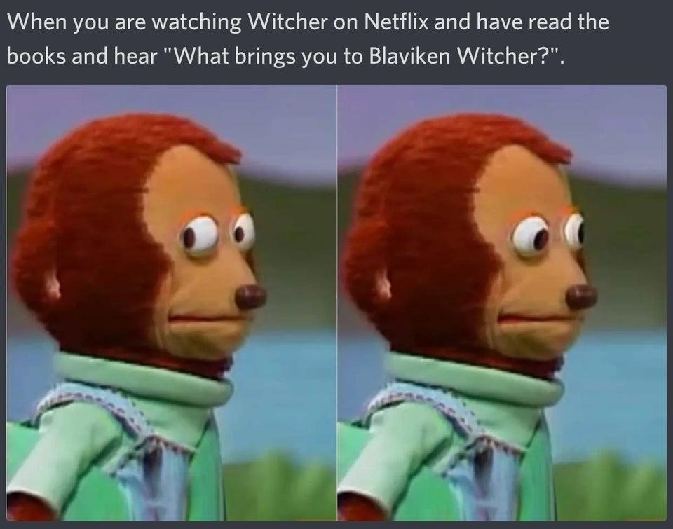 Лучшие мемы ишутки про «Ведьмака» наNetflix — белорусская экранизация и средневековый PornHub | Канобу - Изображение 0
