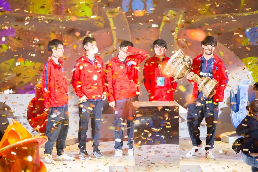 PSG.LGD — чемпионы EPICENTER XL: Ame, xNova, fy, Chalice, Somnus_M