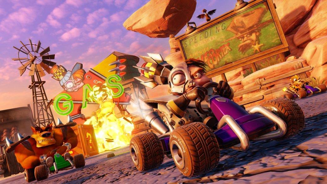 Два часа сCrash Team Racing Nitro-Fueled— чего ждать отремейка гонки сгероями Crash Bandicoot | Канобу - Изображение 334
