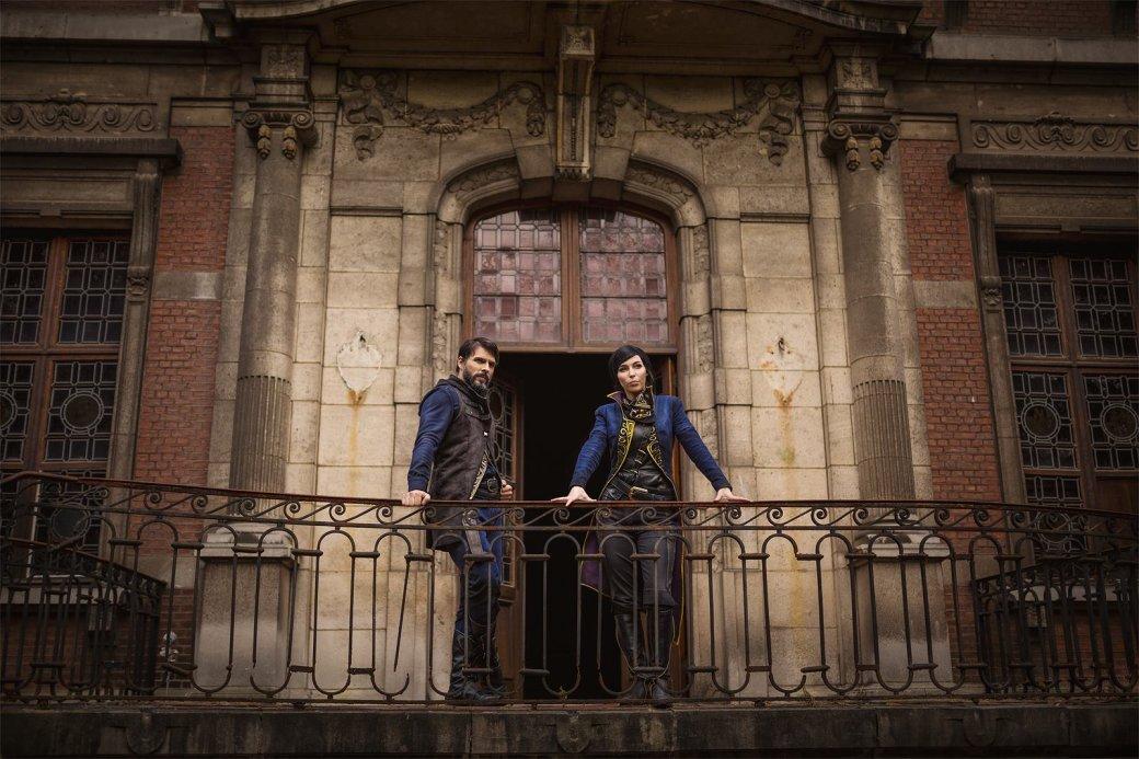Косплей дня: Корво Аттано и Эмили Колдуин из Dishonored 2   Канобу - Изображение 3513
