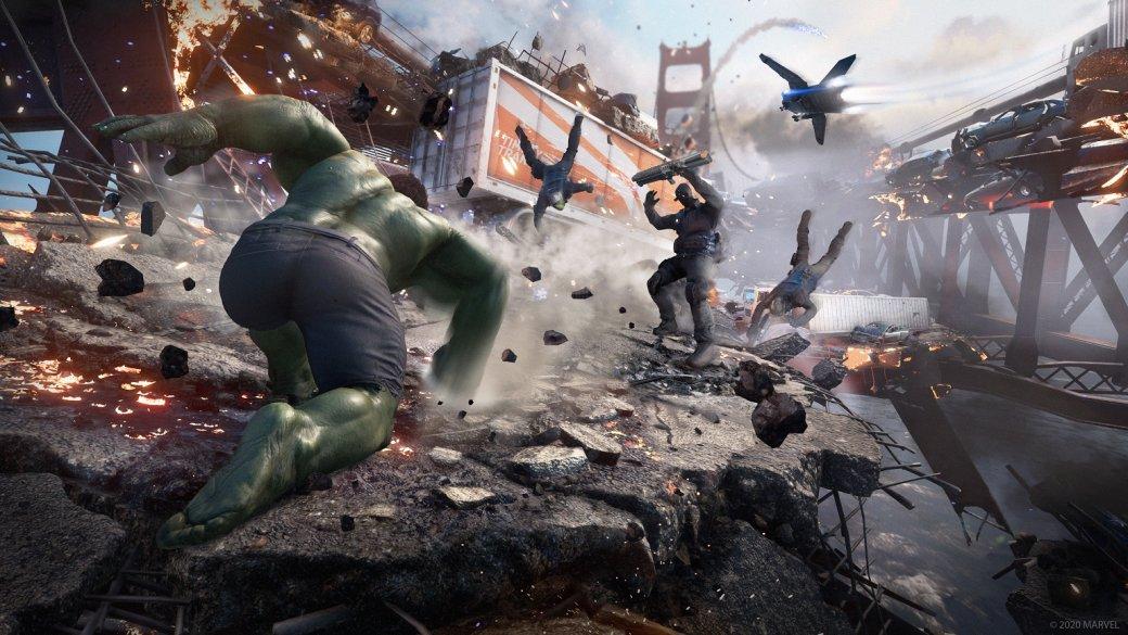Превью мнениеMarvel's Avengers(2020) — как Железный человек иХалк чувствуют себя вигре-сервисе? | Канобу - Изображение 11668