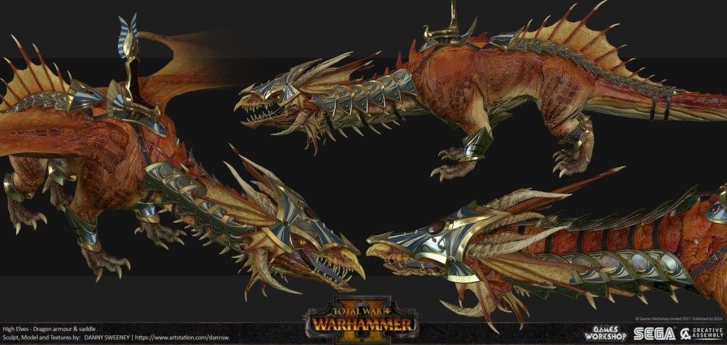 Взгляните напотрясающие концепт-арты Total War: Warhammer II. - Изображение 42