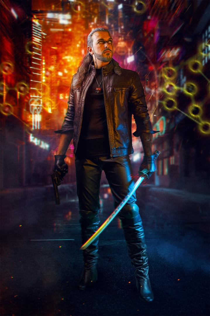 Какбы выглядели Геральт, Йорвет, Шани, Йеннифэр иБьянка вмире Cyberpunk 2077? | Канобу - Изображение 2