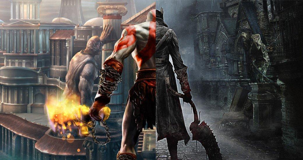 Помните безумную геометрию уровней в Bloodborne? Авторы God of War вдохновлялись именно ей. - Изображение 1