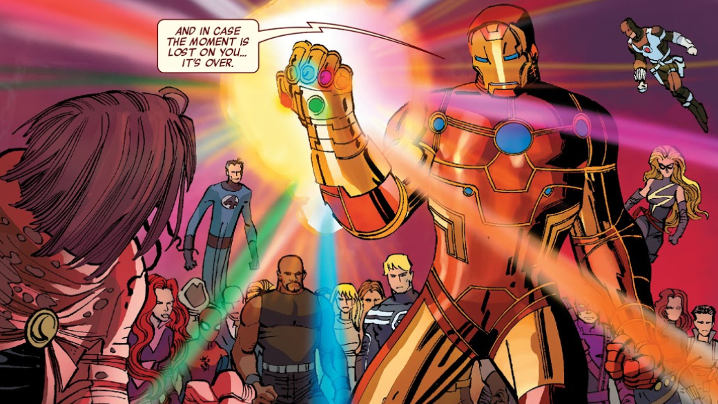 Какие персонажи Marvel, кроме Таноса, использовали Перчатку Бесконечности? | Канобу - Изображение 15