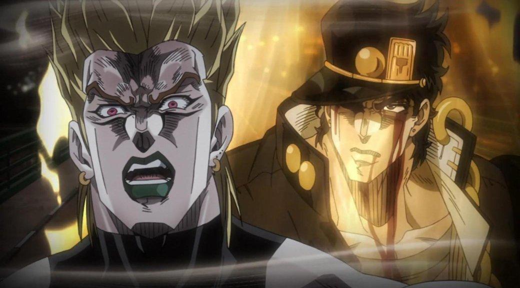 Эпическая битва самой культовой парочки «ДжоДжо» вновом трейлере Jump Force
