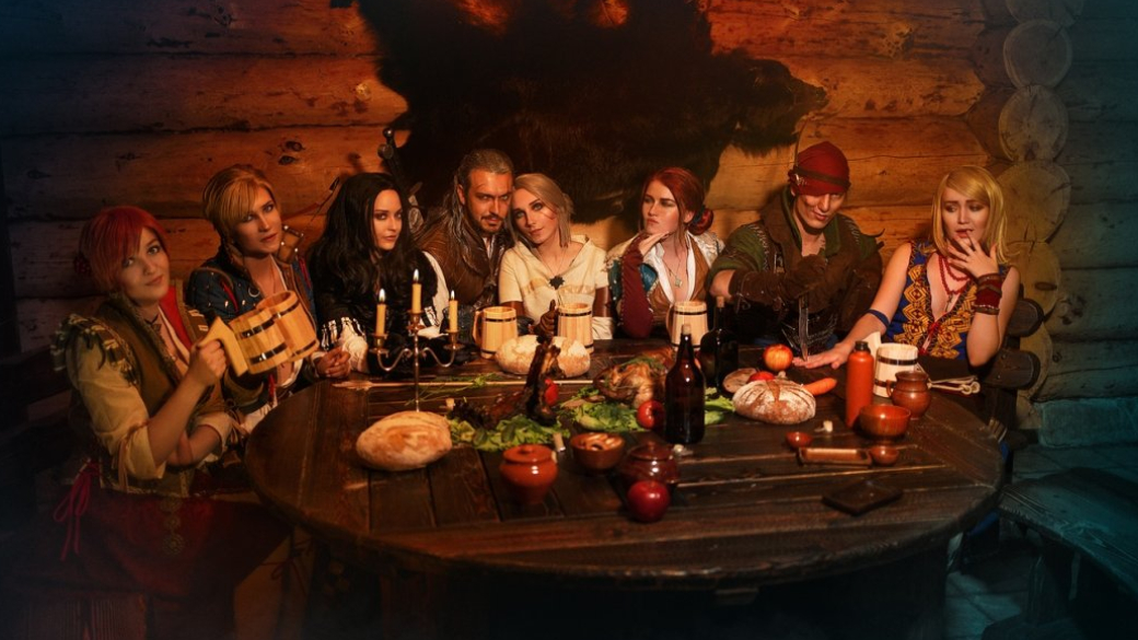 Грандиозная попойка Геральта, Трисс, Йеннифэр и других героев «Ведьмака» в невероятном косплей-видео | Канобу - Изображение 893