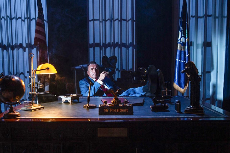 Напервом фото сосъемок Kung Fury 2 Арнольд Шварценеггерстал президентом США   Канобу - Изображение 7715