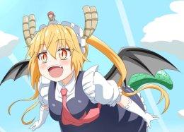 Манга «Дракон-горничная Кобаяси-сан» приближается к«кульминации». Ждем второй сезон аниме?