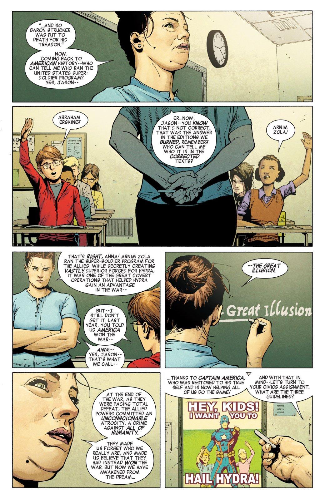 Пропаганда и концлагеря. Во что Гидра и Капитан Америка превратили США | Канобу - Изображение 3