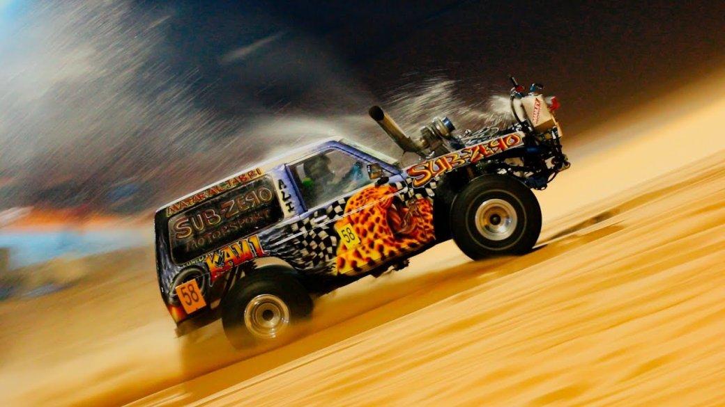 «Арабская ночь, горячий песок»: любимые автомобильные развлечения Ближнего Востока | Канобу