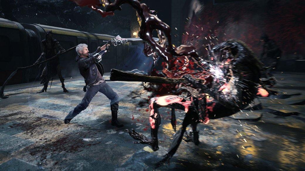 Авторы Devil May Cry V гордятся DmC от Ninja Theory, поэтому использовали некоторые ее приемы в игре. - Изображение 2
