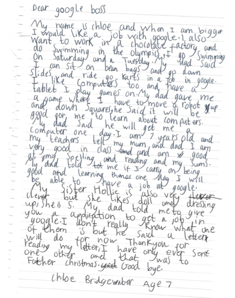 CEO Google ответил на просьбу 7-летней девочки взять ее на работу | Канобу - Изображение 4427