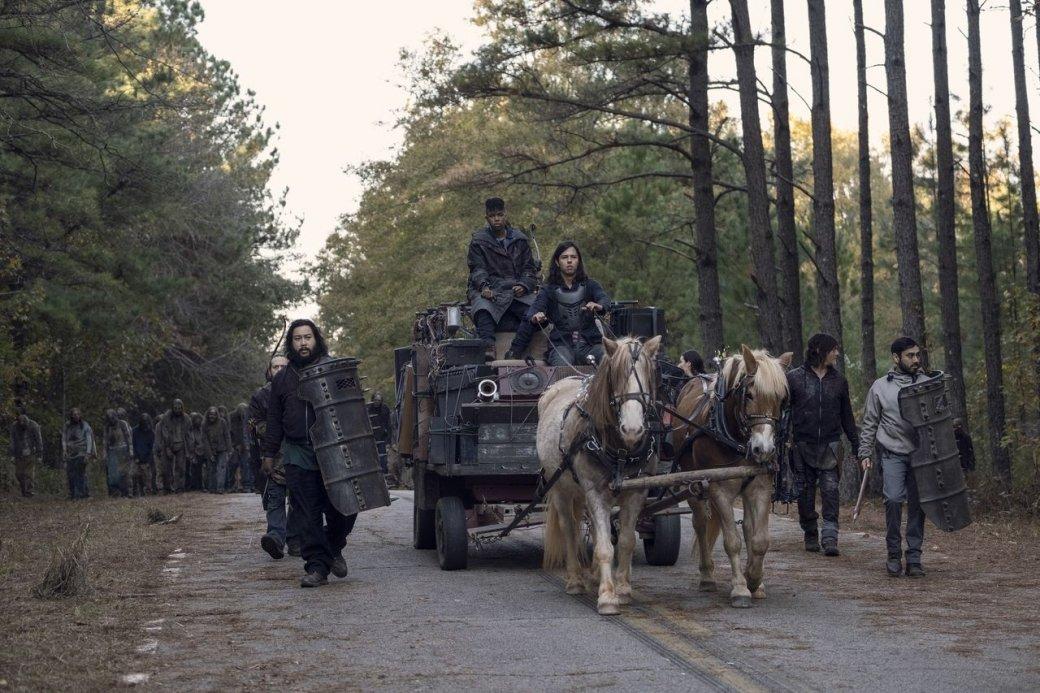 Что показали впоследней серии «Ходячих мертвецов» в2020 году? Война идолгожданное возвращение | Канобу - Изображение 10925