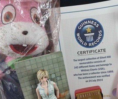 Поклонница Silent Hill попала в книгу рекордов Гиннесса