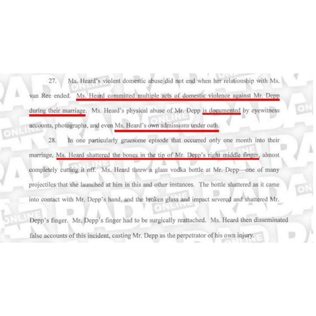 Новые доказательства говорят отом, что это Эмбер Херд калечила Джонни Деппа, аненаоборот | Канобу - Изображение 6254