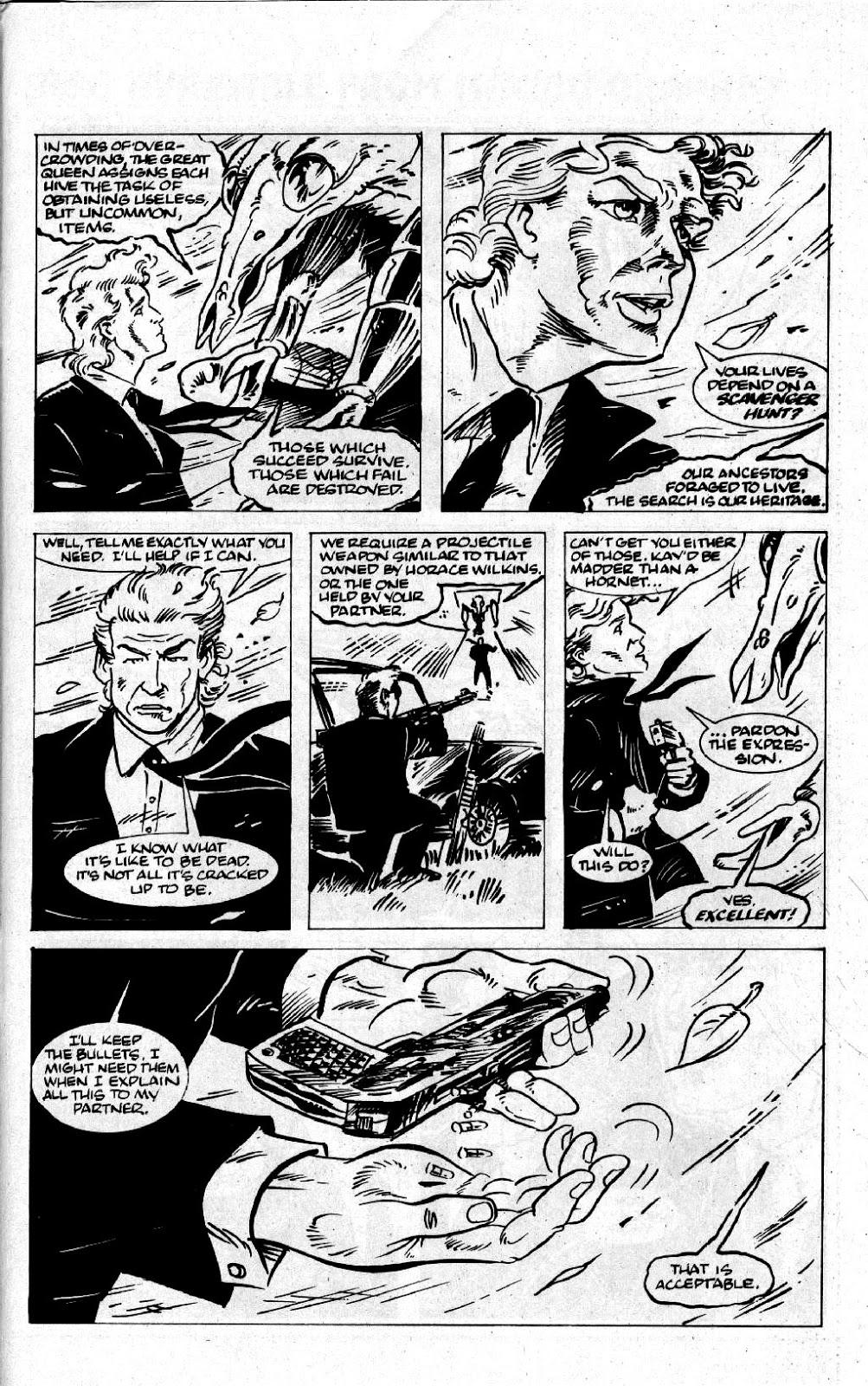 Каким был оригинальный комикс про Людей вчерном?   Канобу - Изображение 0